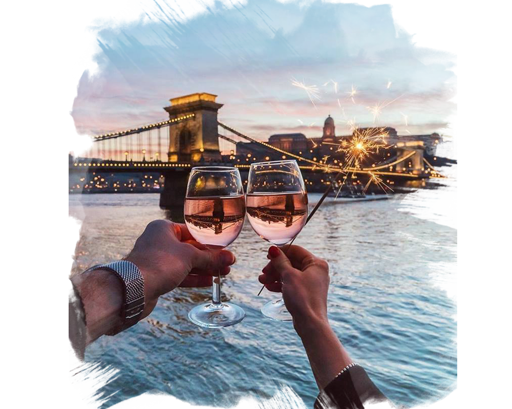 budapest river cruise wine tasting valentines