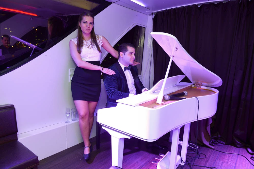budapest dinner cruise with piano show