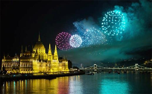 firework budapest cruise
