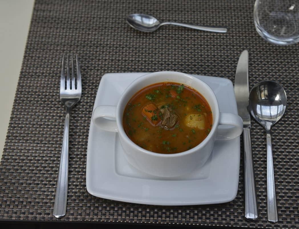 danube dinner goulash soup