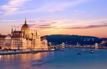 Budapest Sunset Times February