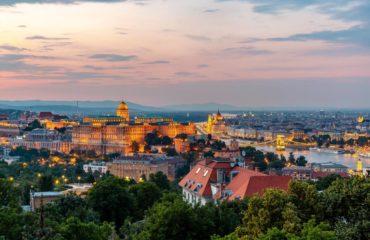 The View From Gellért Hill