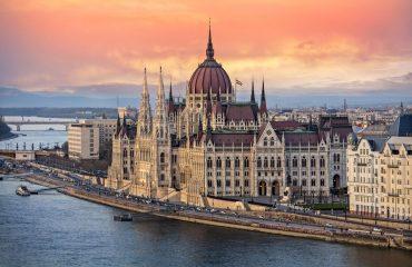Budapest Sunset In October