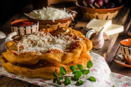 Hungarian langos
