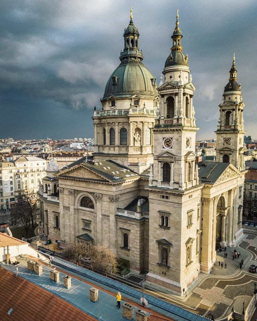 St. Stephen´s Basilica birdview
