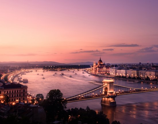 August weather in Budapest