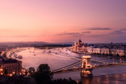Budapest sunset times in December 2019