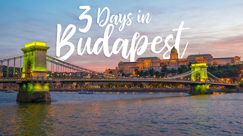3 days in budapest