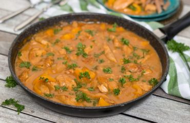 The famous Chicken paprikash