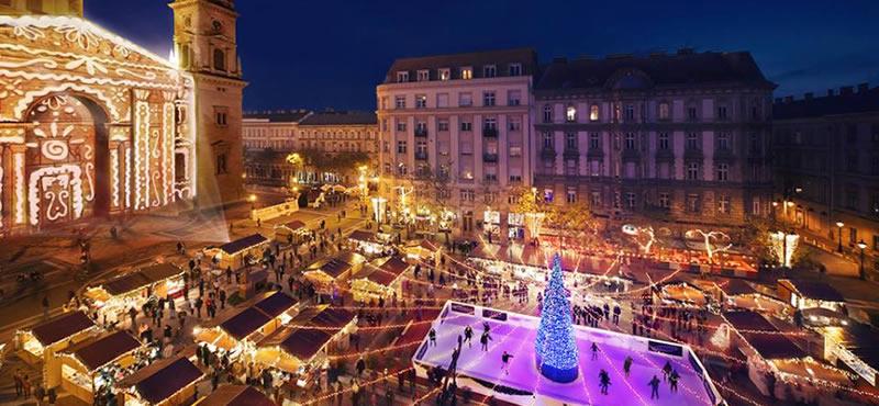 Weihnachtsmarkt Budapest