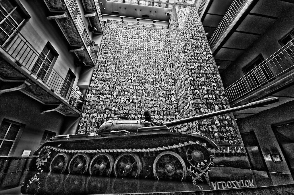 """Museum """"Haus des Terrors"""" in Budapest"""