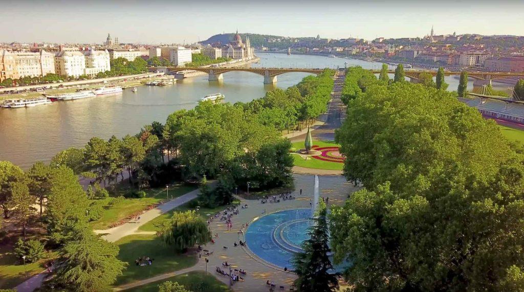 Die Margareteninsel in Budapest